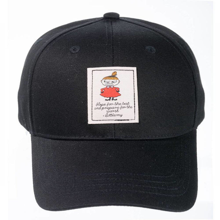 Little My Cap black - Robin Ruth - The Official Moomin Shop