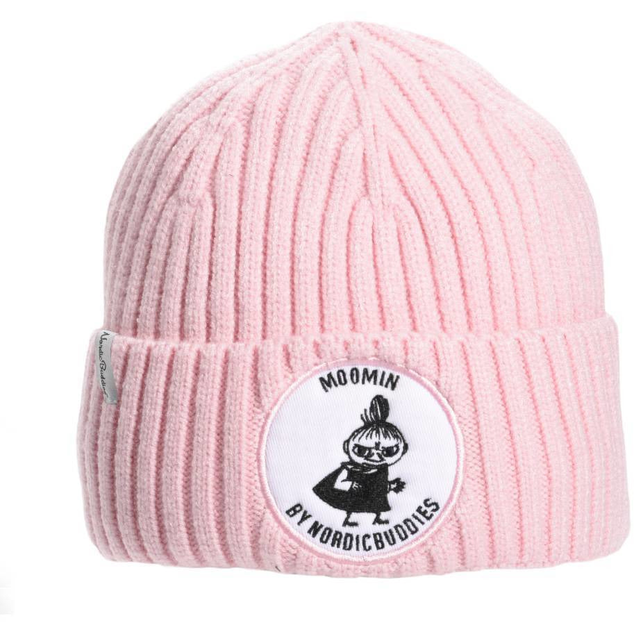 Little My Kids Beanie pink - Nordicbuddies - The Official Moomin Shop