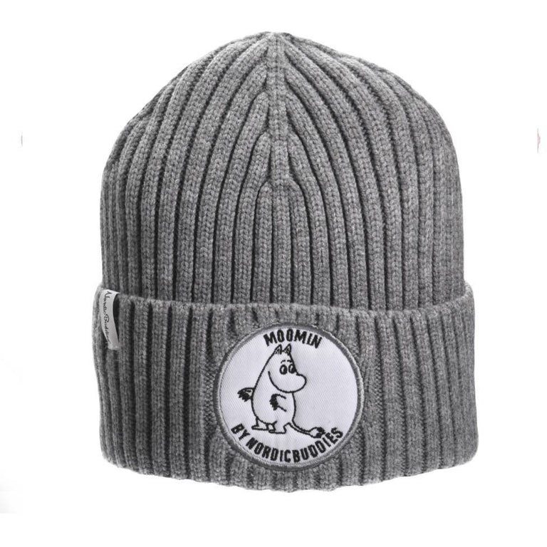 Moomintroll Beanie gray  - Nordicbuddies - The Official Moomin Shop