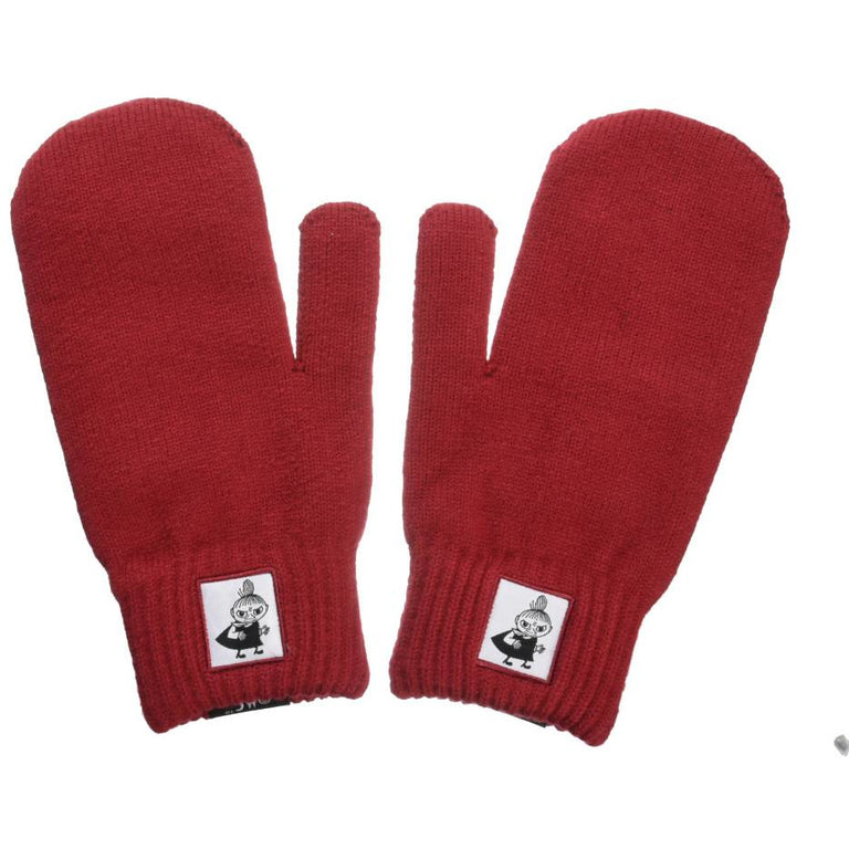Little My Mittens red - Nordicbuddies - The Official Moomin Shop