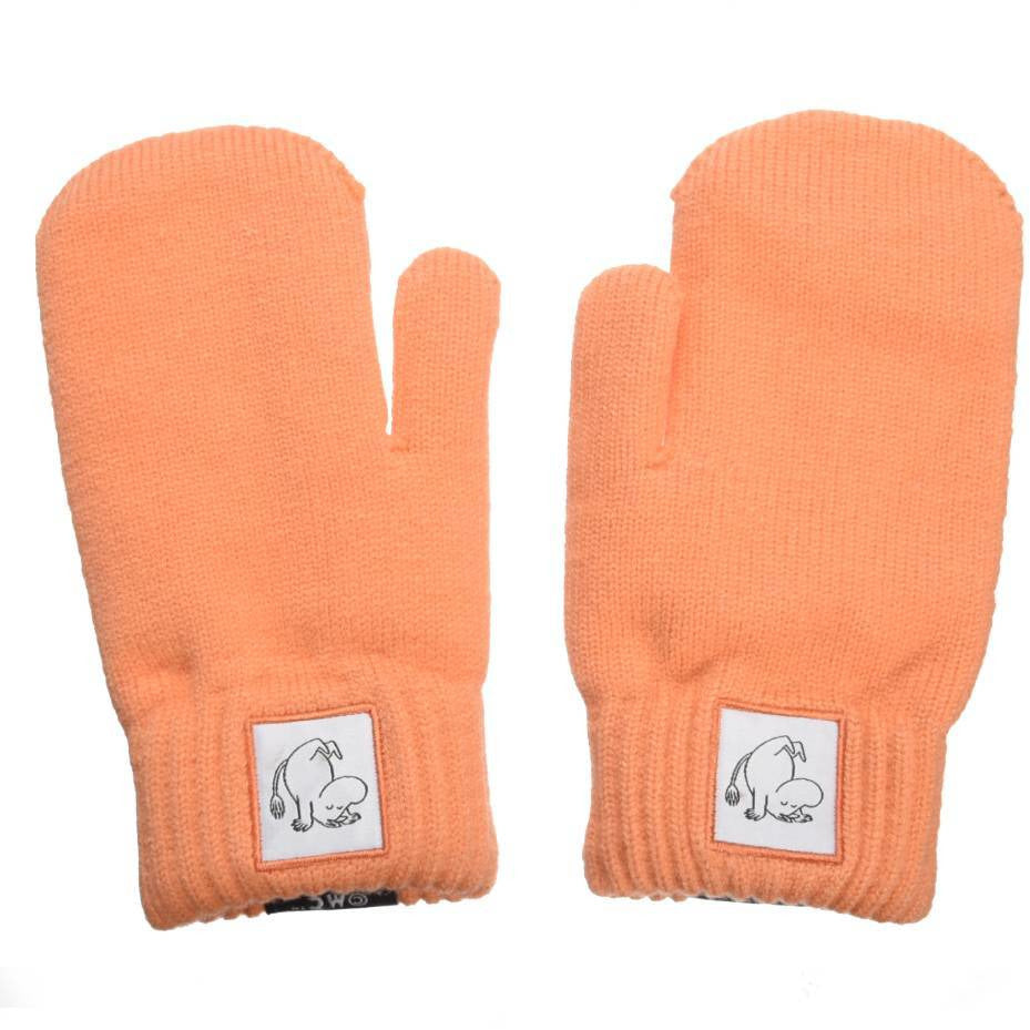 Moomintroll Kids Mittens peach - Nordicbuddies - The Official Moomin Shop