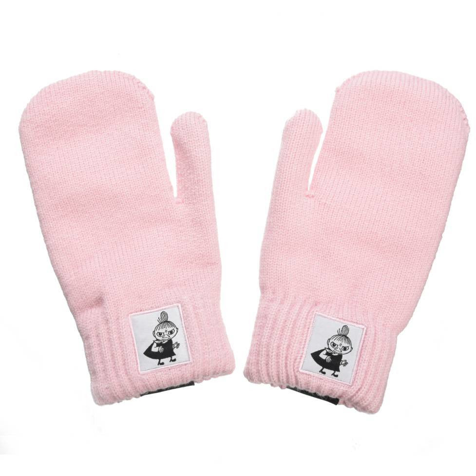 Little My Kids Mittens pink - Nordicbuddies - The Official Moomin Shop