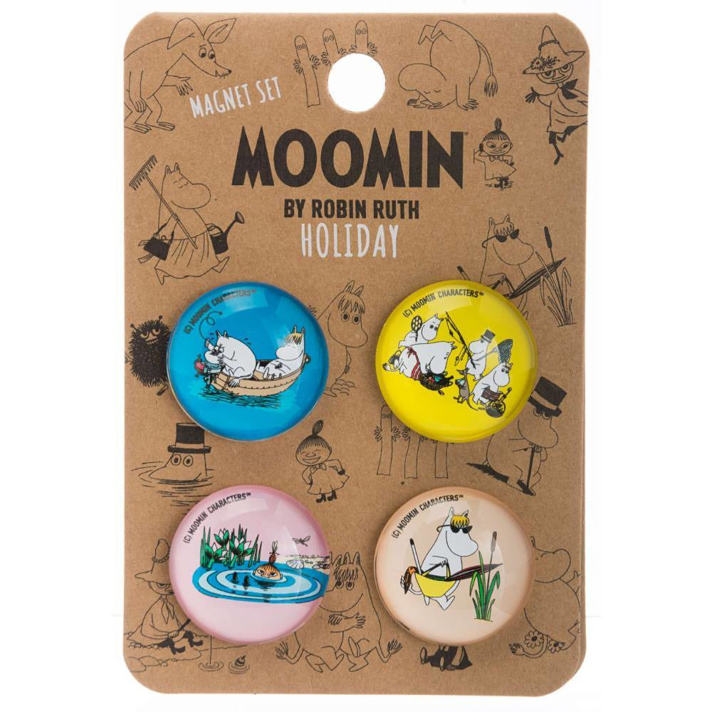 "Moomin ""Holiday"" Magnet Set - Nordicbuddies - The Official Moomin Shop"