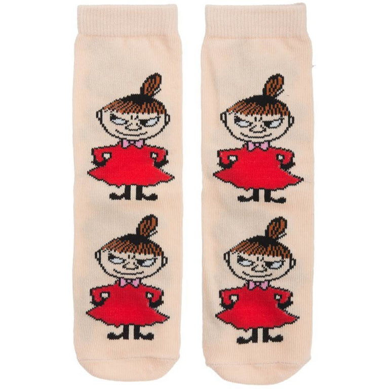 Little My Kids Socks pink - Robin Ruth - The Official Moomin Shop