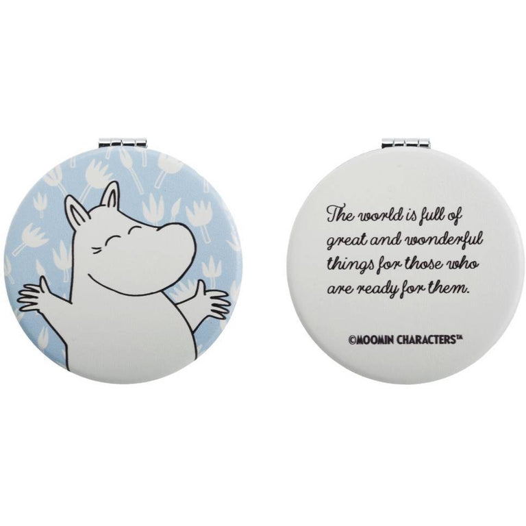 Moomintroll pocket Mirror - Robin Ruth - The Official Moomin Shop