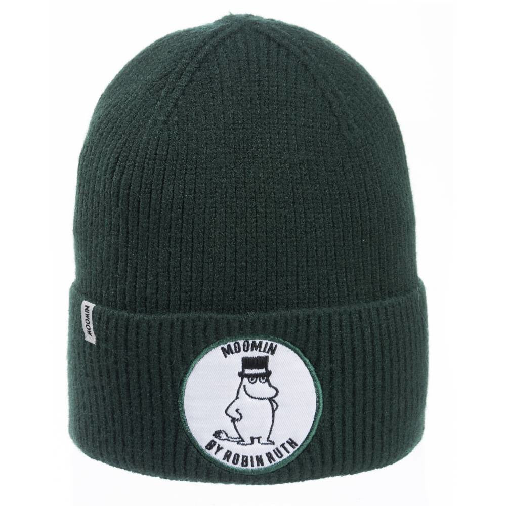 Moominpappa Beanie green - Nordicbuddies - The Official Moomin Shop