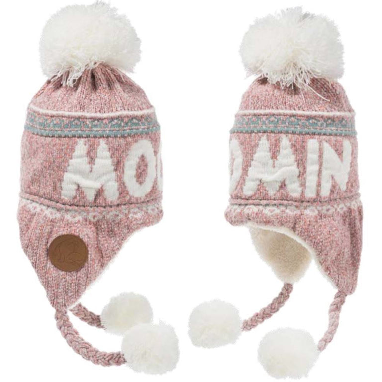 Moomin Winter Hat Adults Pink - Robin Ruth - The Official Moomin Shop