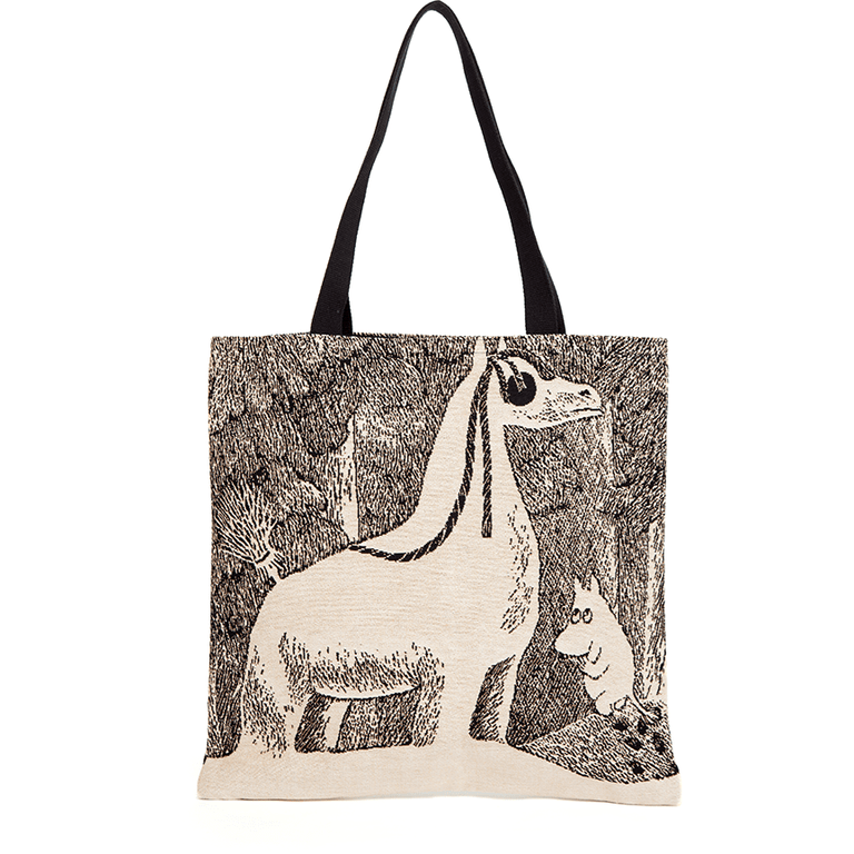 Moomin Snowhorse gobelin bag by Aurora Decorari - The Official Moomin Shop