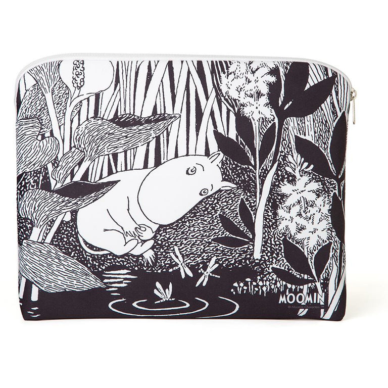 Moomintroll dreaming accessory / tablet pouch - Aurora Decorari - The Official Moomin Shop