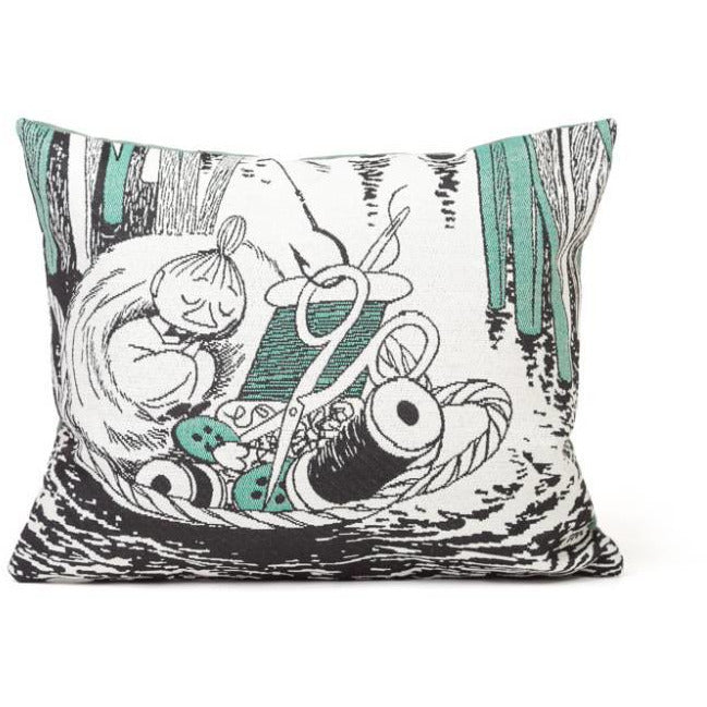 Little My in basket Cushion Cover - Aurora Decorari - The Official Moomin Shop