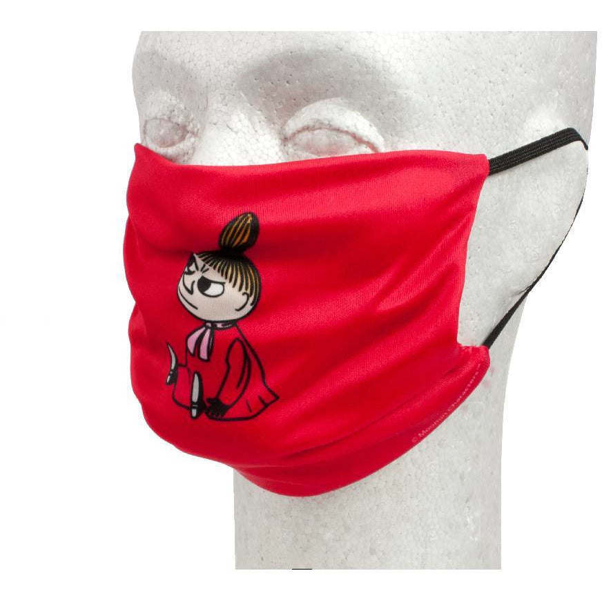 Little My Face Mask red - Futushop - The Official Moomin Shop