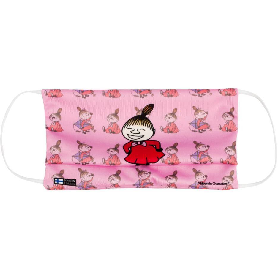 Little My Face Mask pink - Futushop - The Official Moomin Shop