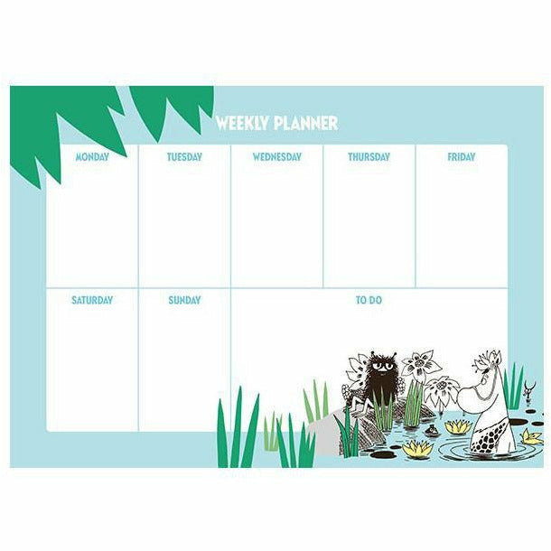 "Moomin Weekly Planner ""Jungle"" - Putinki - The Official Moomin Shop"