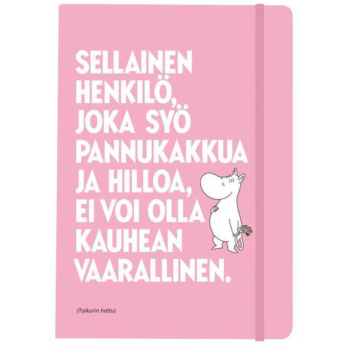 "Moomintroll ""Pancake"" notebook - Putinki - The Official Moomin Shop"