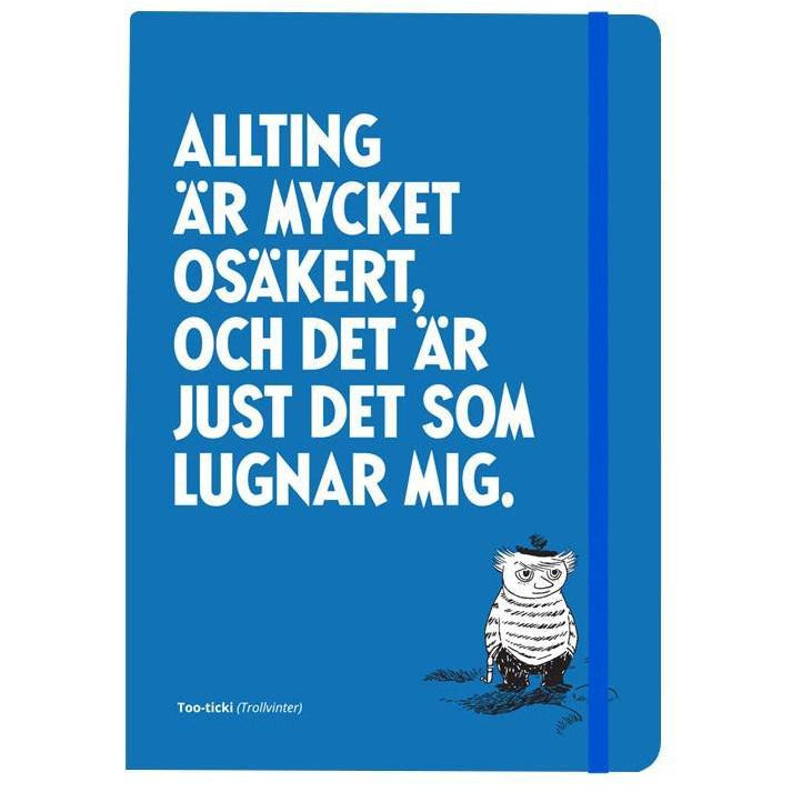 "Too-ticky ""Mycket osäkert"" notebook - Putinki - The Official Moomin Shop"
