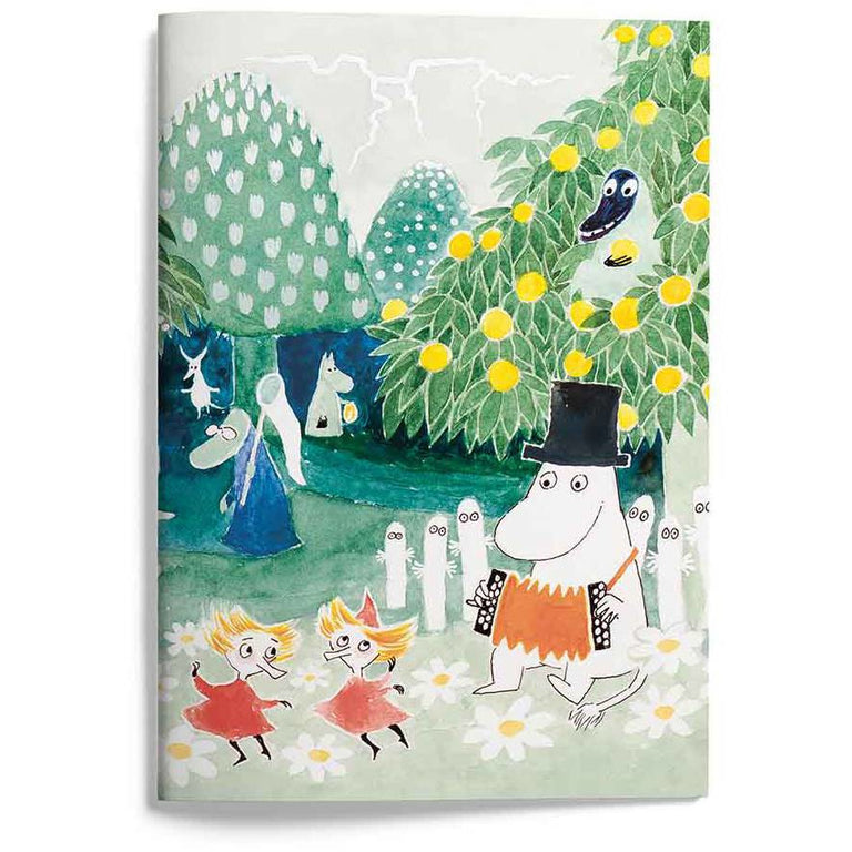 "Moomin Notebook ""Finn Family Moomintroll"" - Putinki - The Official Moomin Shop"