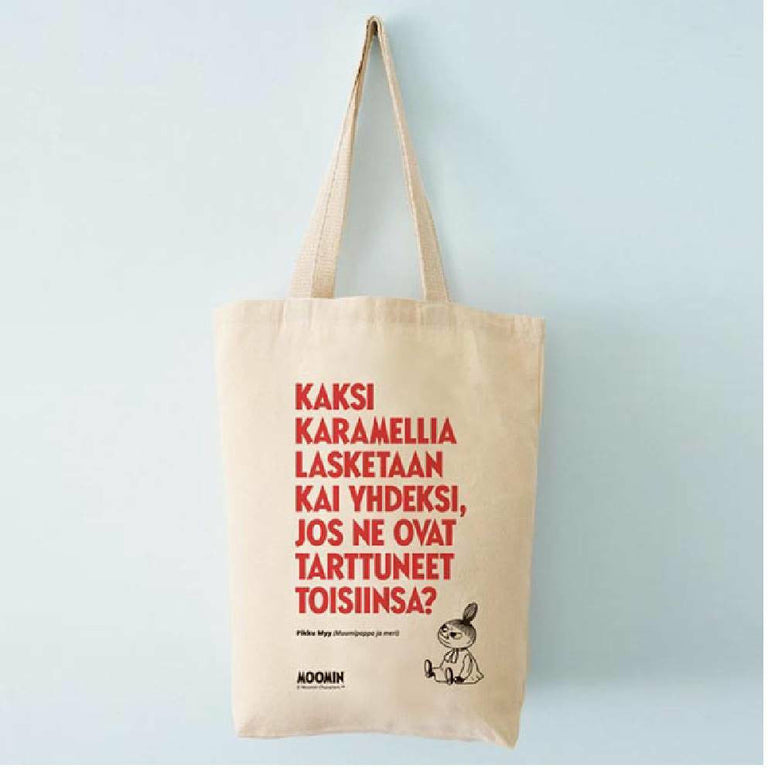 "Moomin ""Kaksi karamelliä"" Tote Bag - Putinki - The Official Moomin Shop"