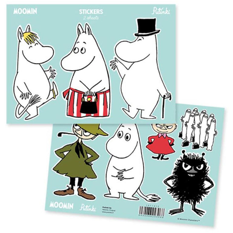 Moomin Stickers - Putinki - The Official Moomin Shop
