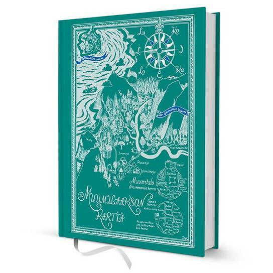 "Moomin ""Map of Moominvalley"" Hard cover Notebook - Putinki - The Official Moomin Shop"