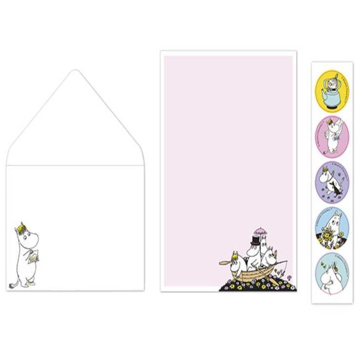 Moomin Sailors Letter set - Putinki - The Official Moomin Shop