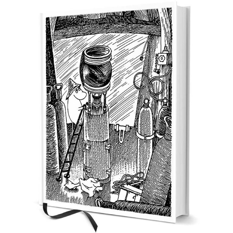 "Moomin hard cover Notebook ""The lighthouse"" - Putinki - The Official Moomin Shop"
