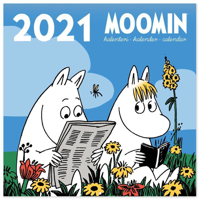 Moomin Wall Calendar 2021 S - Putinki - The Official Moomin Shop