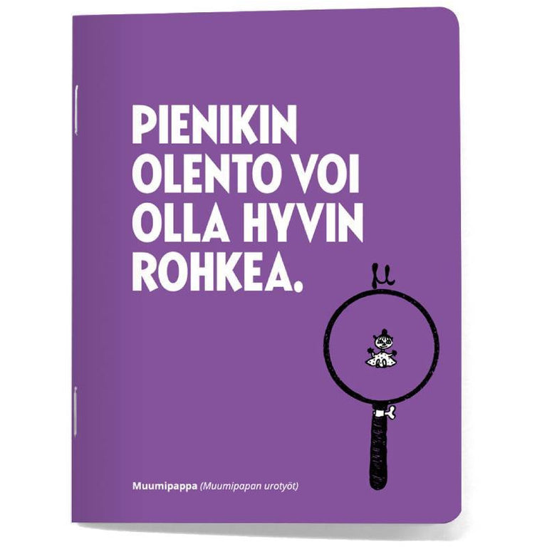 Moomin Notebook 4-Set quotes- Putinki - The Official Moomin Shop