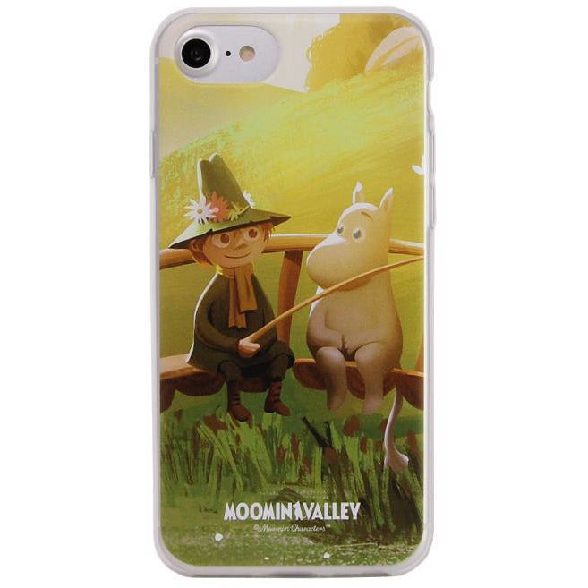 Moomintroll & Snufkin Phone Soft Case - Docover - The Official Moomin Shop