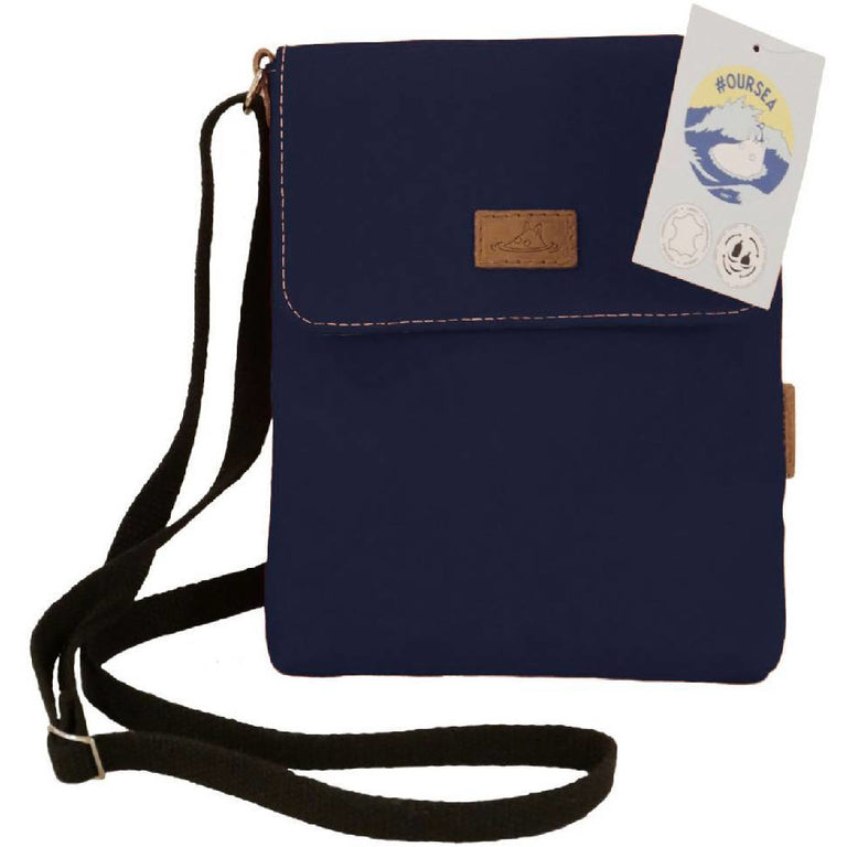 #OURSEA Moomin Shoulder Bag blue - Docover - The Official Moomin Shop