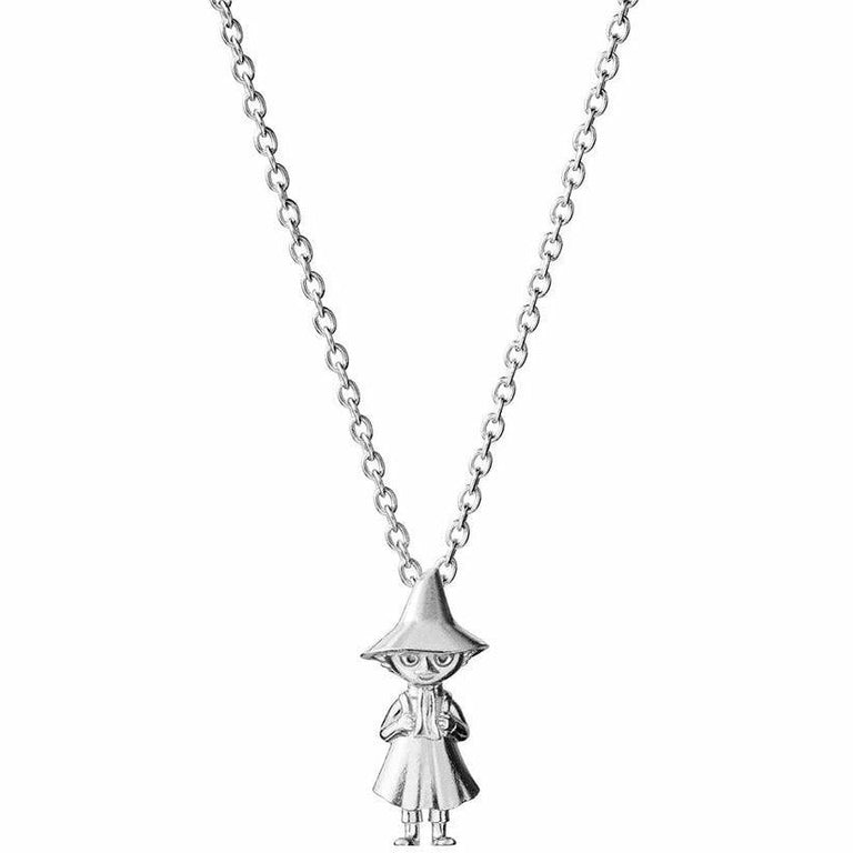 Snufkin sterling silver pendant by Saurum - The Official Moomin Shop