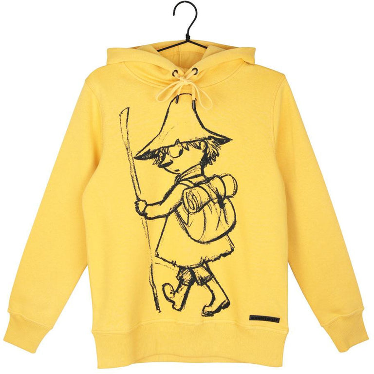 Moomin Sweatshirt Snufkin Sketch Yellow - Martinex - The Official Moomin Shop