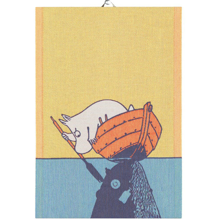 #OURSEA Moomintroll Kitchen Towel - Ekelund - The Official Moomin Shop
