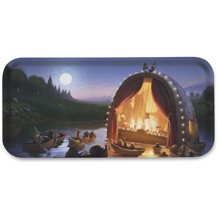 MOOMINVALLEY Theatre tray 32x15cm - The Official Moomin Shop