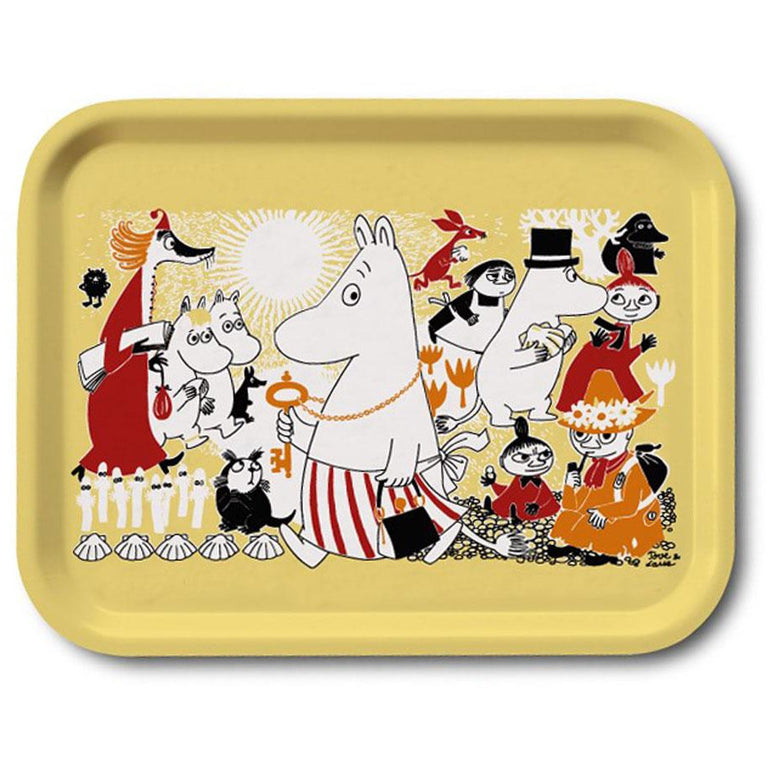 Moomin Shop Jubilee tray 27 x 20 cm - Limited edition - The Official Moomin Shop