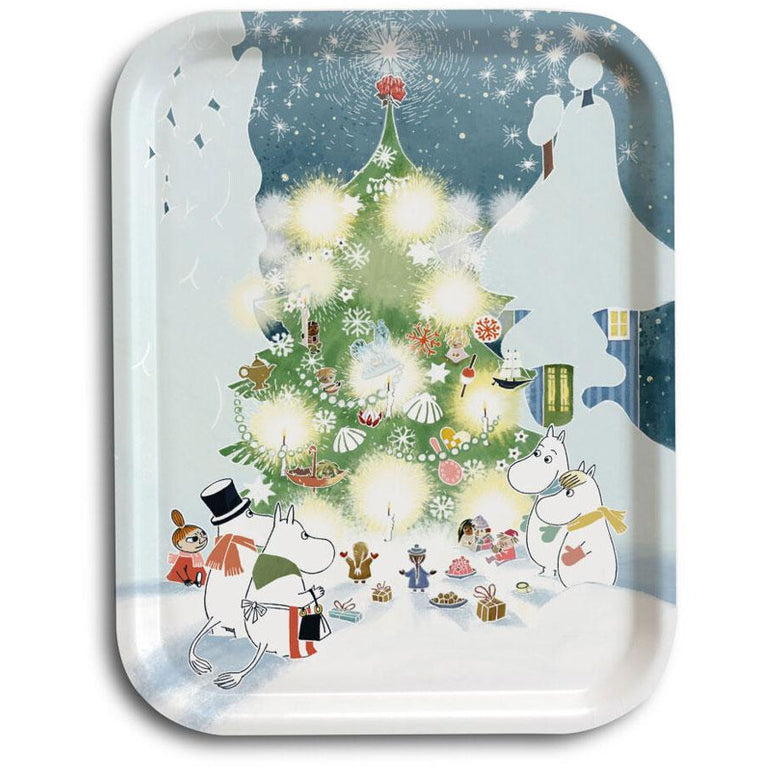 Moomin Christmas Tree Tray 27 x 20 cm - Opto Design - The Official Moomin Shop