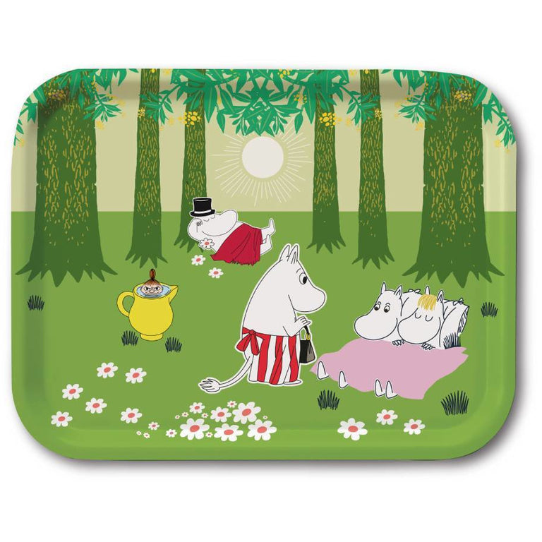 "Moomin ""Verdant Summer"" Tray - Opto Design - The Official Moomin Shop"