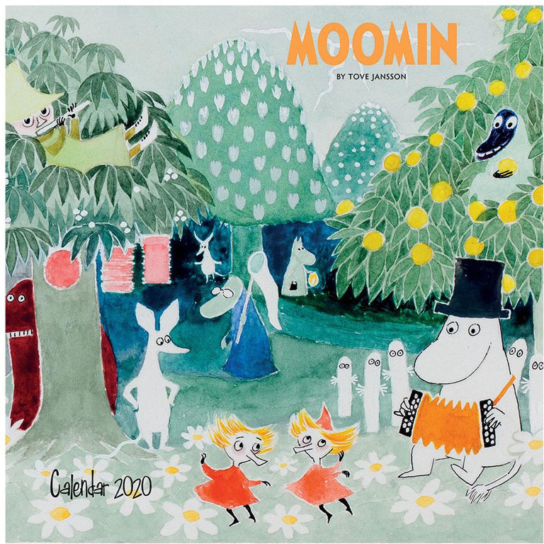 Moomin 2020 Wall Calendar 30x30 cm - Flame Tree - The Official Moomin Shop
