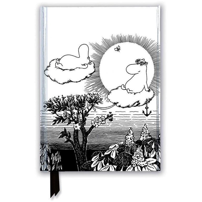 Moomin in the Clouds Notebook - Flame Tree - The Official Moomin Shop