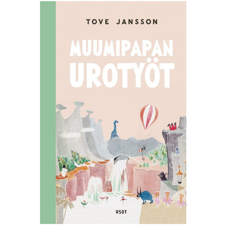 Muumipapan urotyöt - WSOY - The Official Moomin Shop