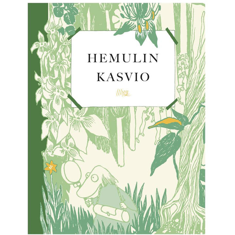 Hemulin kasvio - WSOY - The Official Moomin Shop