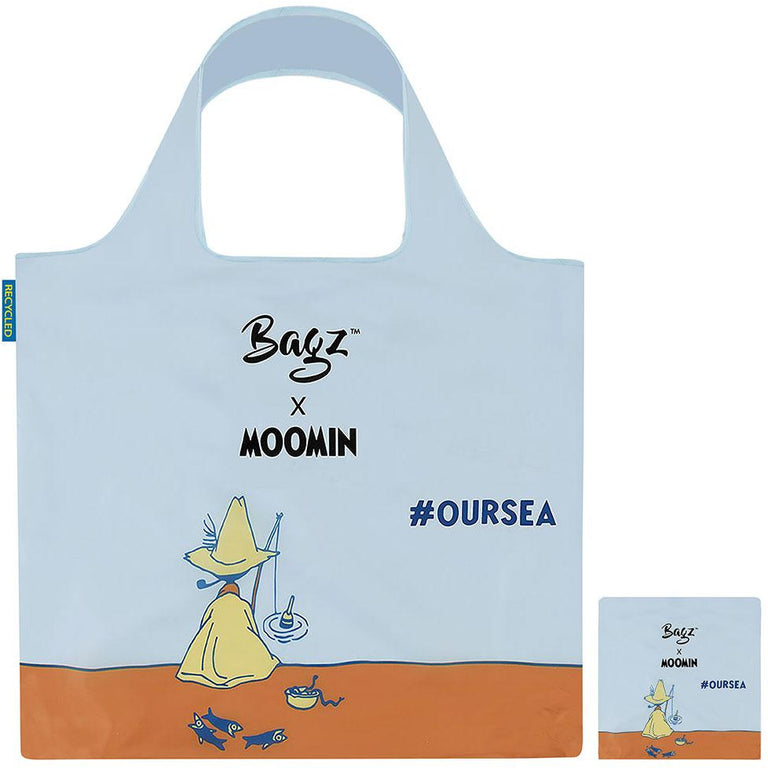 Snufkin Reusable Bag by Bagz - #OURSEA - The Official Moomin Shop