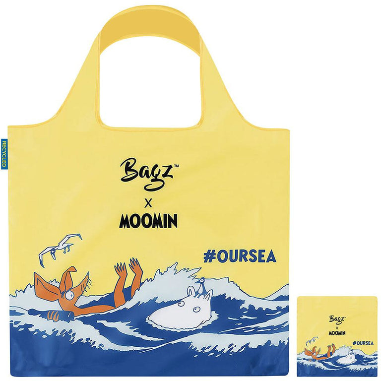 Moomintroll & Sniff Reusable Bag by Bagz - #OURSEA - The Official Moomin Shop