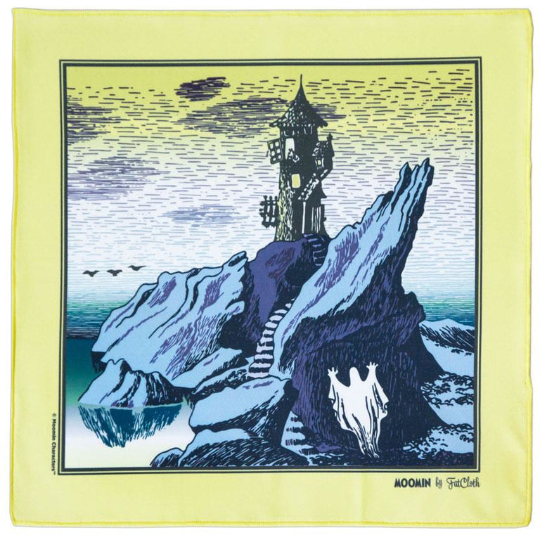 Moomin Lighthouse pocket square by FatCloth - The Official Moomin Shop