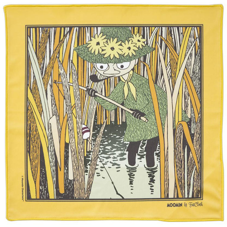 "Moomin ""Angler"" multipurpose Pocket square - FatCloth - The Official Moomin Shop"