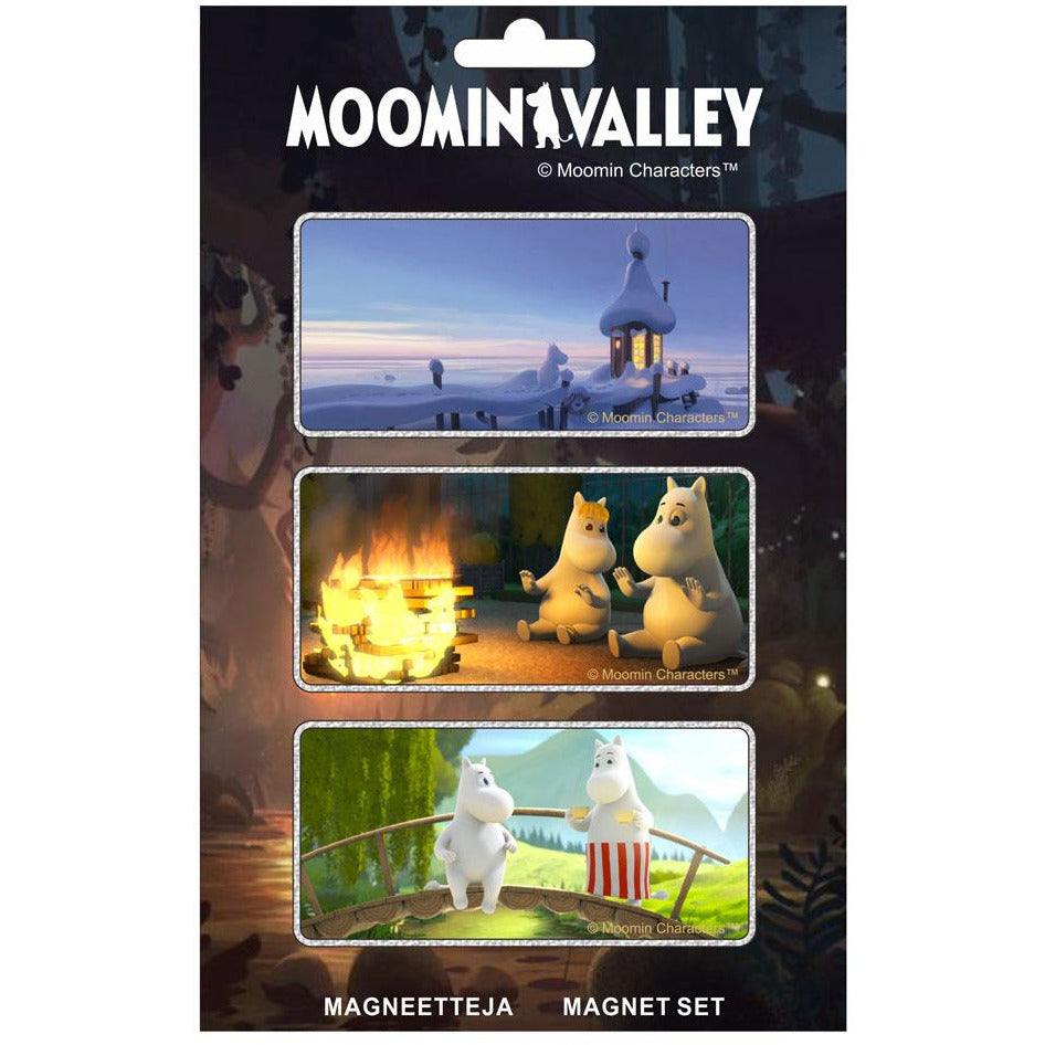 Moominvalley Magnets 3-set - TMF-Trade - The Official Moomin Shop