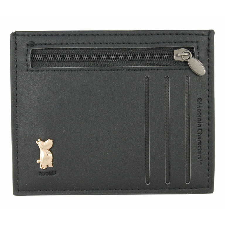 Moomintroll Pocket Wallet black - TMF Trade - The Official Moomin Shop