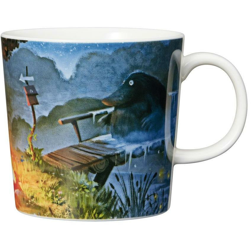 "Moomin ""Night of the Groke"" Mug - Arabia - The Official Moomin Shop"