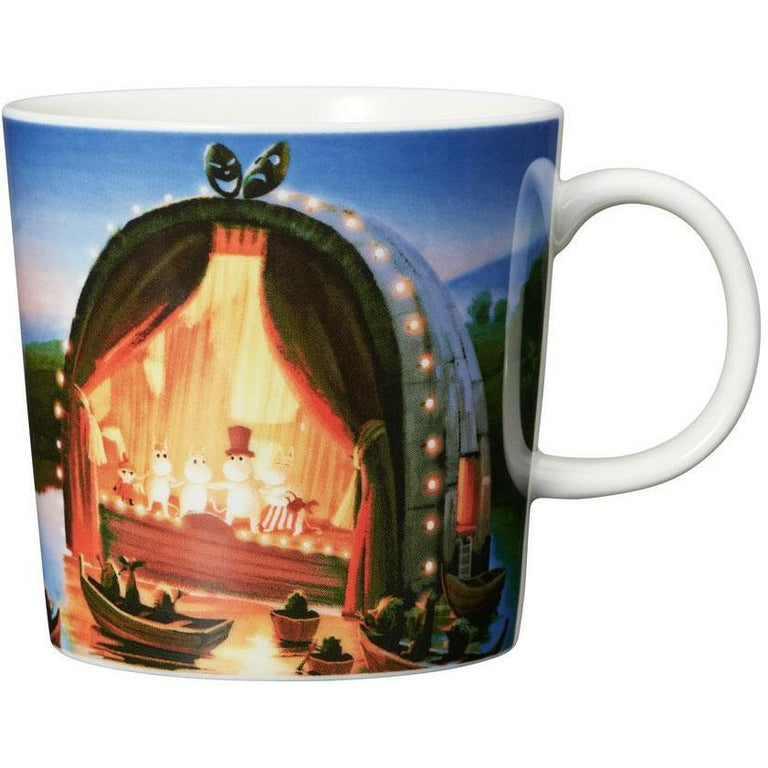 "Moomin ""Golden tale"" Mug - Arabia - The Official Moomin Shop"