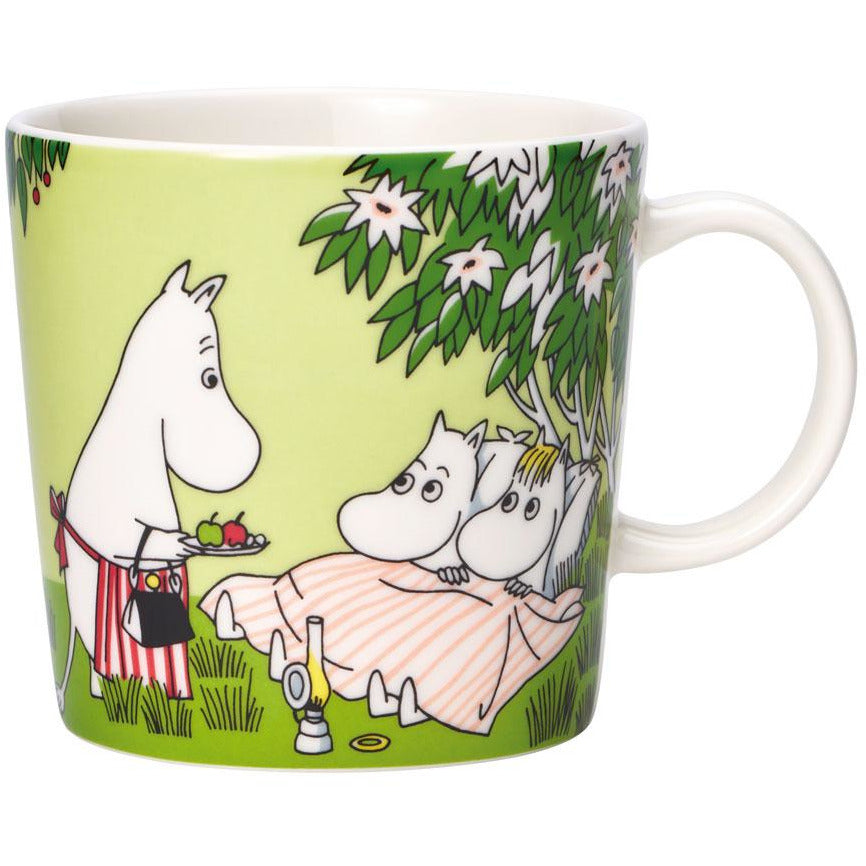 "#OURSEA Moomin ""Relaxing"" Mug summer 2020 -Arabia - The Official Moomin Shop"