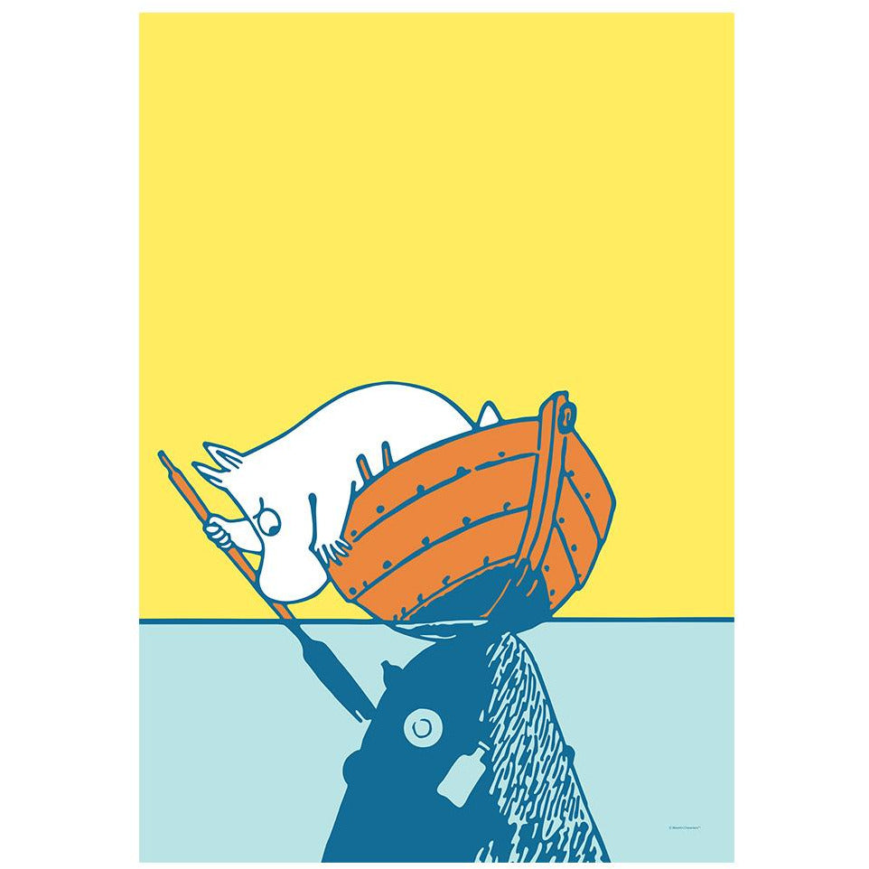 #OURSEA poster featuring Moomin - The Official Moomin Shop
